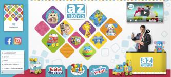 Stoisko targowe firmy AZ Toys