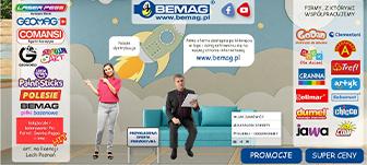 Stoisko targowe firmy Bemag