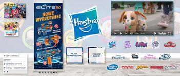 Stoisko targowe firmy Hasbro
