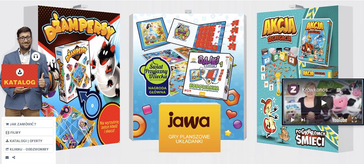 Stoisko targowe firmy Jawa