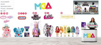 Stoisko targowe firmy MGA Entertainment