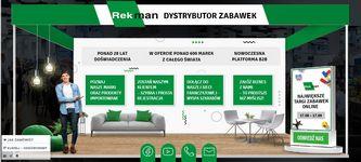 Stoisko targowe firmy Rekman Dystrybucja