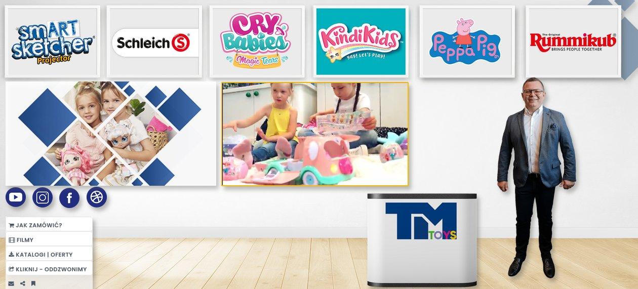 Stoisko targowe firmy TM Toys