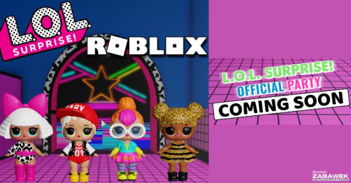 L.O.L. Surprise! urządza imprezę na #Roblox